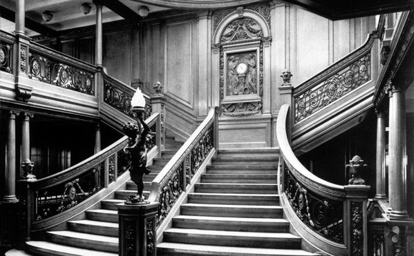 Foto Kapal Titanic Sebelum Tenggelam