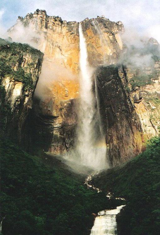 Angel Falls, air terjun tertinggi didunia