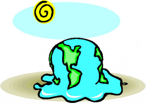 GLOBAL WARMING CARTOONS (KARTUN PEMANASAN GLOBAL) | TOPIK WARNA-WARNI