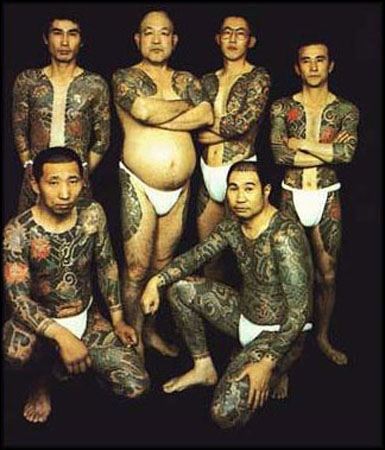 Gambar Tatto on Tato Yakuza   Topik Warna Warni