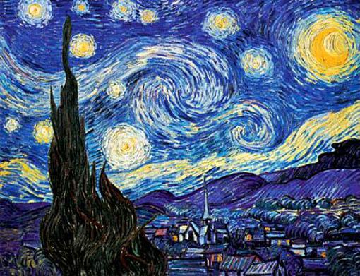 abstrak lukisan