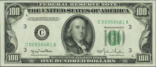 11. 1950 TO PRESENT - FEDERAL BANK NOTE