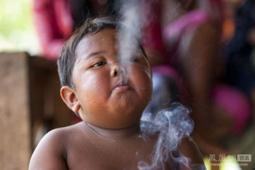 Smoking Toddler Grows Up