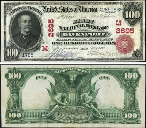 29. 1902 -  RED SEAL NATIONAL BANK NOTES
