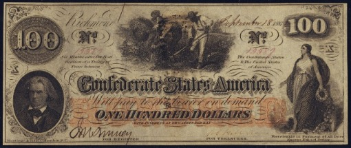 49. 1862 - Confederate Paper Money