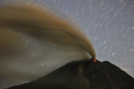 APTOPIX Indonesia Volcano