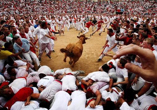 San Fermin festival: Bullring