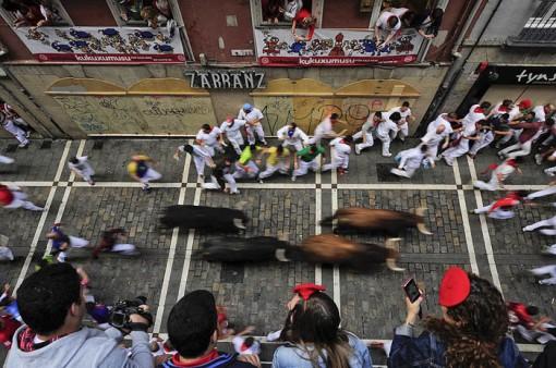 San Fermin Festival: Vantage point
