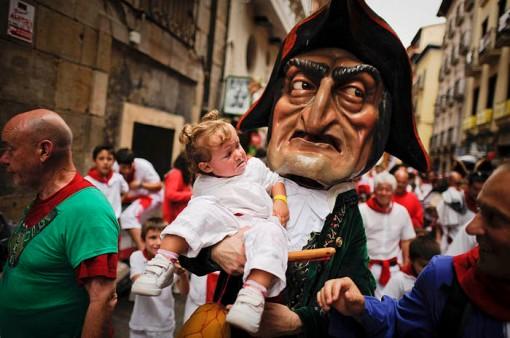 San Fermin Festival: Big Head