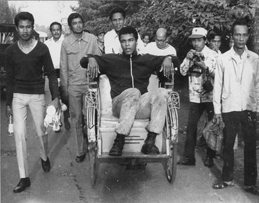 MUHAMMAD ALI DI JAKARTA TAHUN 1973